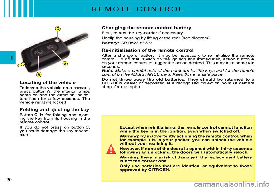 Warning Citroen C3 Dag 2008 1 G Owner U0026 39 S Manual  184 Pages